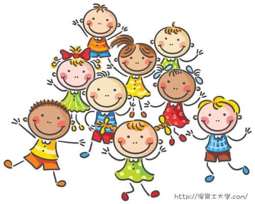 保育園には元気な幼児がいっぱい.保育士資格を取得できる国公立短大の偏差値ランキング