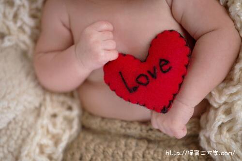 赤ちゃんのハート