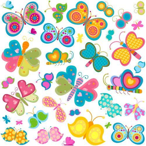 きれいな色の蝶々。公務員保育士になりたい!