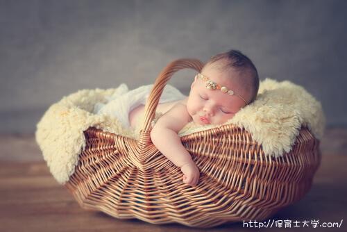 赤ちゃんの寝顔はかわいい