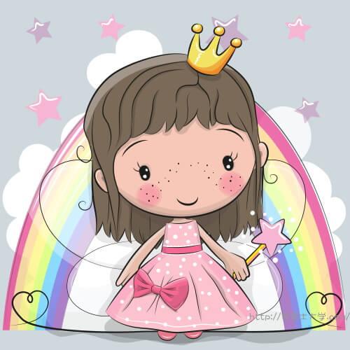 小さなお姫様