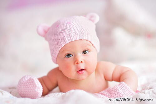 天使のような赤ちゃん